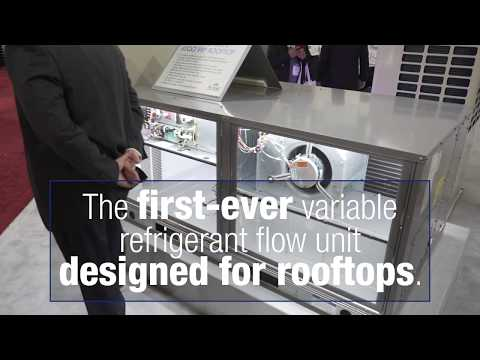 Carrier – Introducing the First VRF Product Line for Rooftops