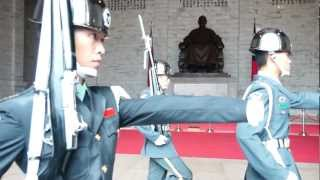 [Full HD] Chiang Kai-shek Memorial Hall Guard Changing