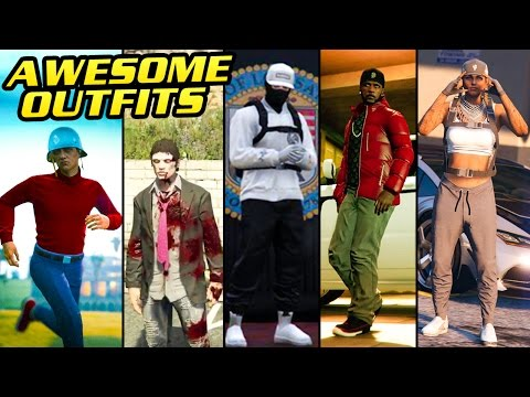 GTA Online: FASHION FRIDAY! (Zombie, The Flash, Streetwear, Trapstar & MORE)