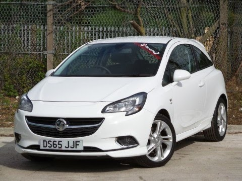 2015 65 vauxhall corsa 1 4 16v turbo 100ps sri vx line 3dr in white youtube. Black Bedroom Furniture Sets. Home Design Ideas