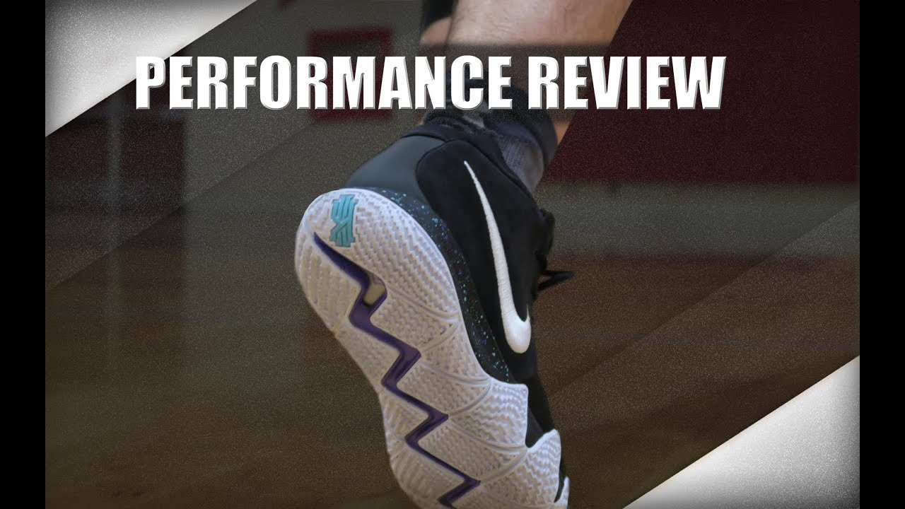 c11f38e5ea36 Nike Kyrie 4 Performance Review - YouTube