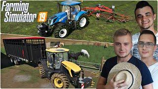 """Kupno mega landu, sprzedaż koni i zgrabianie trawy!✔ FS 19 """"od Zera do Farmera""""#128 MafiaSolecTeam"""