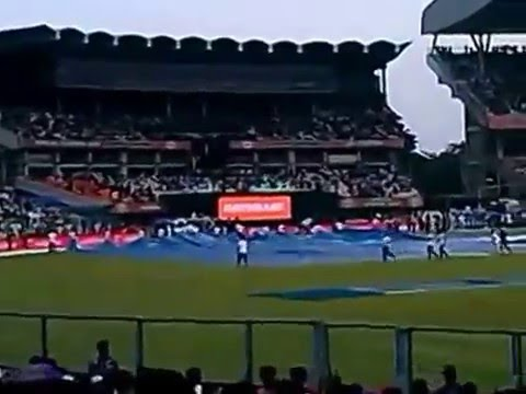 Eden Gardens Kolkata Bad Rainy Weather Stops Cricket Match