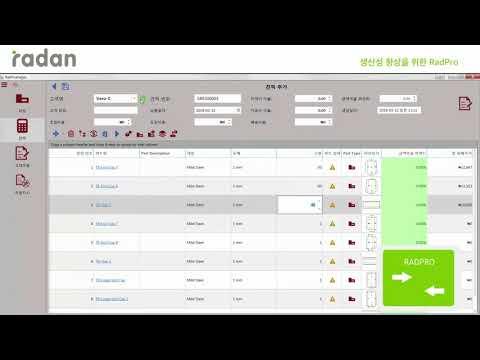 [Radan] 생산성 향상을 위한, RadPro