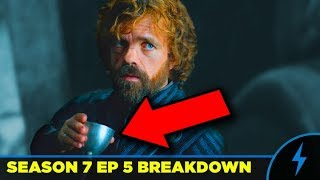 Game of thrones 7x05 breakdown is jon's team the seven? (eastwatch)
