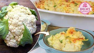 უგემრიელესი კერძი მთელი ოჯახისთვის ძალიან მარტივად 🥦 Cauliflower Цветная капуста
