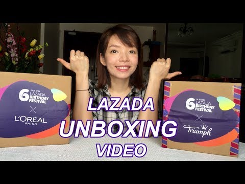 Lazada Unboxing Video