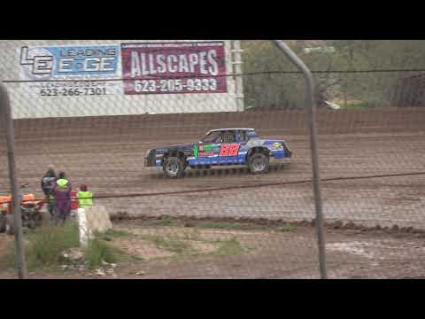 IMCA Stock Cars Heat Race 2-9-2019 @ Canyon Speedway Park