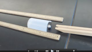 Potential Kinetic Energy Investigation /// Homemade Science with Bruce Yeany