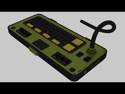 Blender: Modeling a Military Laptop (Part 4 of 4)