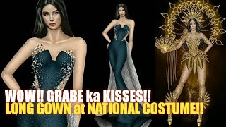 JUST IN!! KISSES DELAVIN.. PATALBUGAN sa LONG GOWN MISS UNIVERSE PHILIPPINES 2021