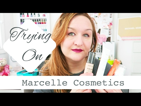 Trying on Marcelle Cosmetics | Bestdayblogger