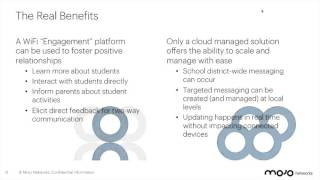 The Real Benefits of Using Cloud WiFi for Student Engagement