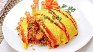 how to make omelette rice