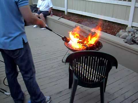 Starting a fire with a propane vapor torch. & Starting a fire with a propane vapor torch. - YouTube azcodes.com