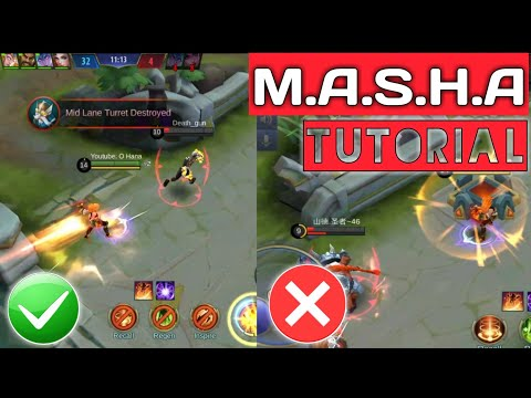 HOW TO USE MASHA | MASHA TUTORIAL | MASHA COMPLETE GUIDE - Mobile Legends thumbnail