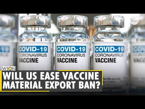 US silent on lifting ban on vaccine raw materials export to India   COVID-19   World News   English