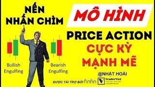 Nến Nhấn Chìm (Bullish/Bearish Engulfing) - Mô Hình Price Action Cực Kỳ Mạnh Mẽ