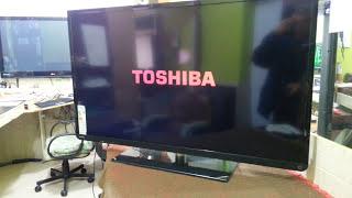 ENTRAR NO MODO DE SERVIÇO TV TOSHIBA