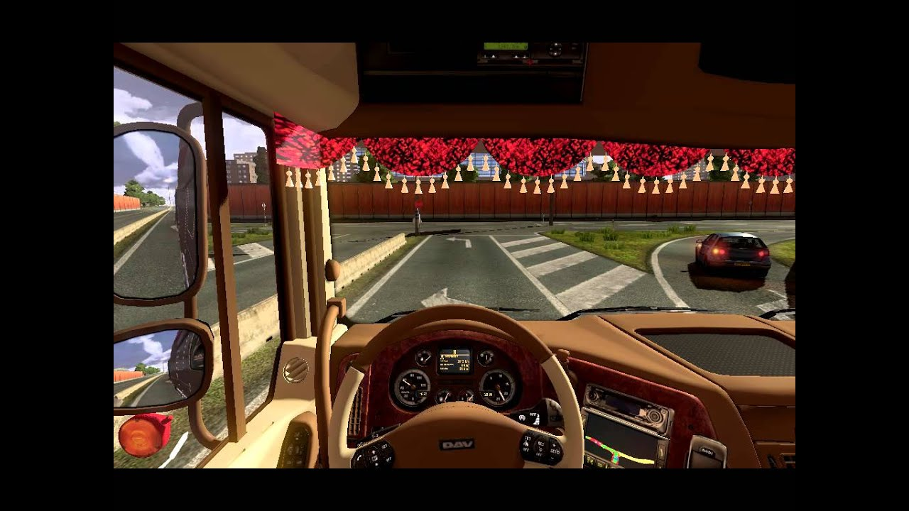 Wallpaper Hd Mu Euro Truck Simulator 2 Daf Power Gemi Mod Works 2012