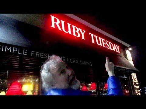 Eating the Salad Bar at Ruby Tuesday