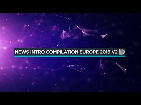 「News Intro Compilation Europe 2016 V2」