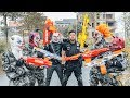 LTT Films : Silver Flash Black Man Nerf Guns Fight Criminal Group Tiger Mask Over War