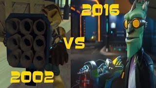 Ratchet and Clank: R.Y.N.O. Cutscene Comparison