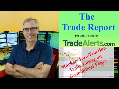 Markets Lose Traction, Trade Lower on Geopolitical Fears (AAPL Earnings Concerns, 4-30-2018)