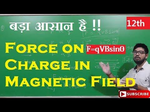 Force Acting on Charge in magnetic field | Abhishek sahu
