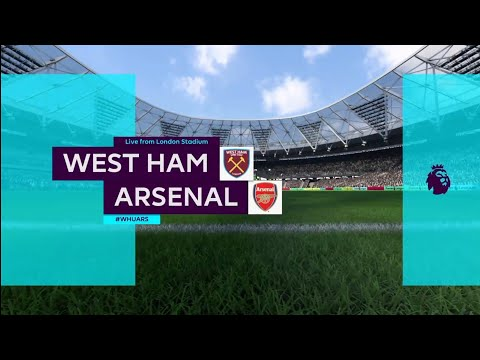 FIFA 18 | Premier League | West Ham v Arsenal | London Stadium