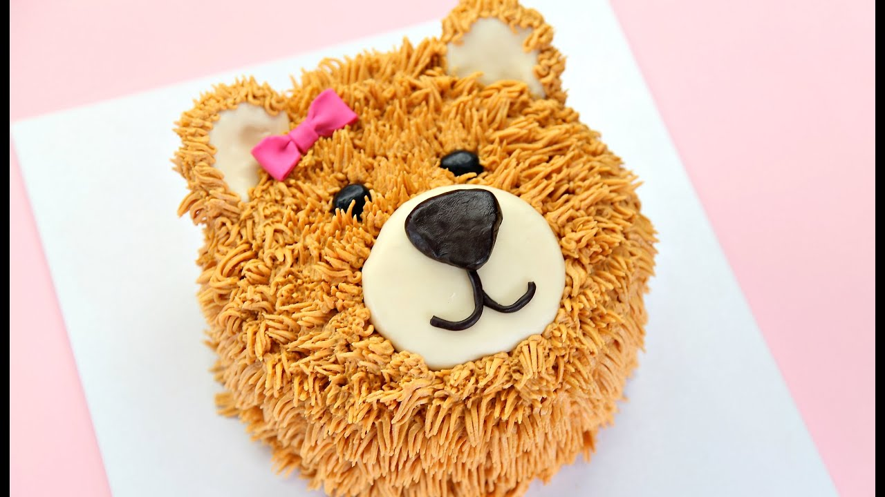 Decorating Cakes teddy bear cake decorating - cake style - youtube