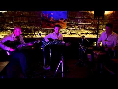 """""""Lolita"""" Grigor Shagoyan. Trio AGUAS www.aguas.de im Cafe 100, Dresden 27.02.2014"""