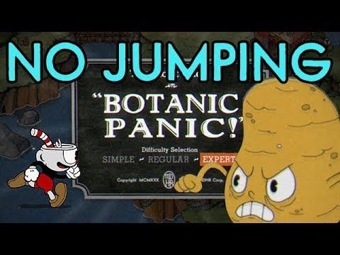 Cuphead No Jump Challenge: Botanic Panic