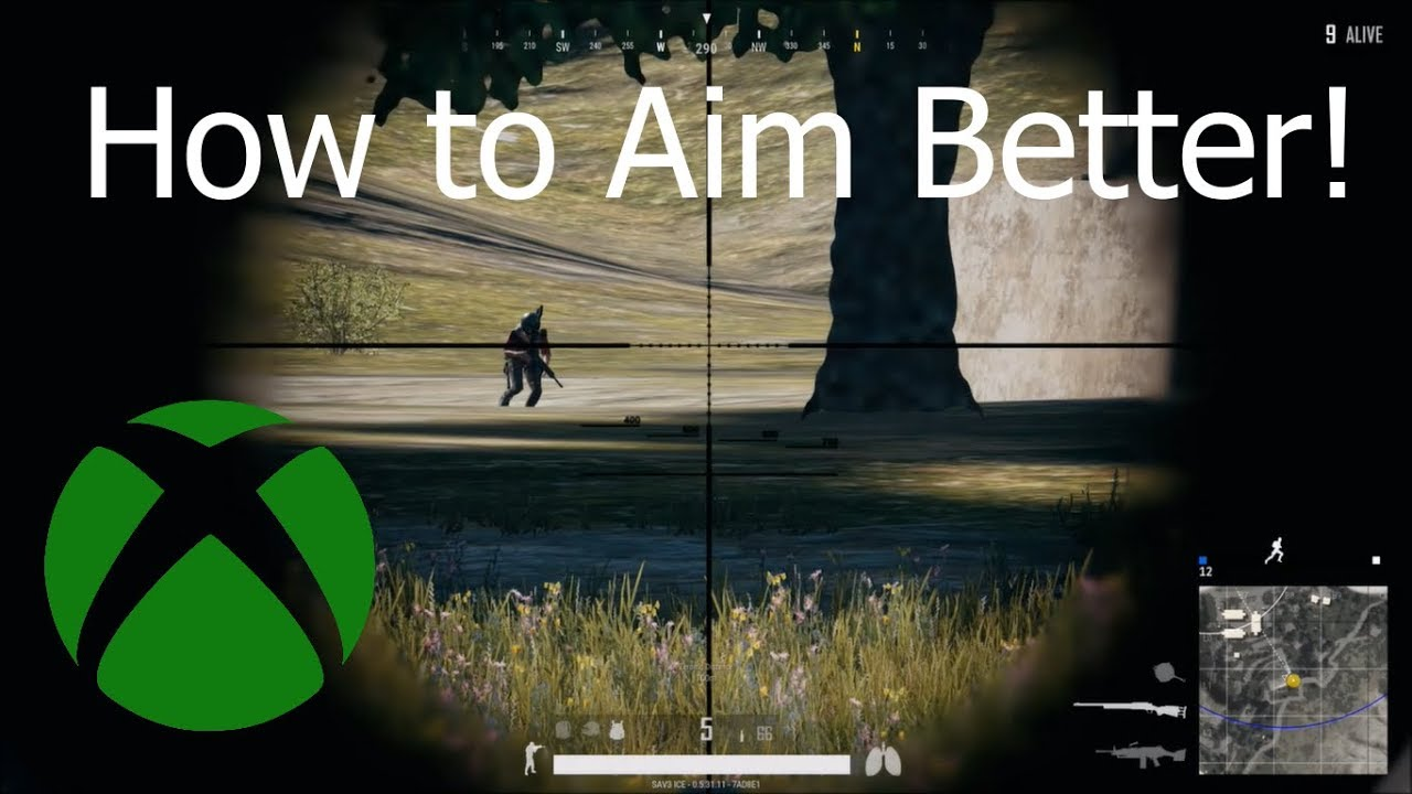 How To Better In Pubg: PUBG AIMING TIPS! (XBOX ONE)