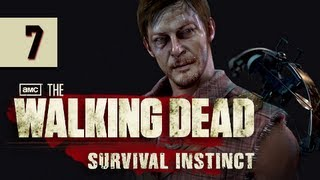 The Walking Dead Survival Instinct Gameplay Walkthrough - Part 7 Lack of Fuel Let