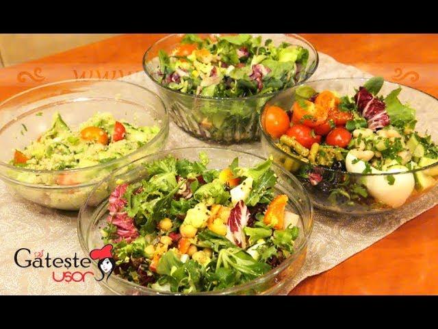 7 Salate simple care te ajuta la nevoie sa slabesti - minus 3 kg in cateva zile