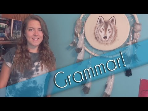 YA Ink- Grammar in Novels