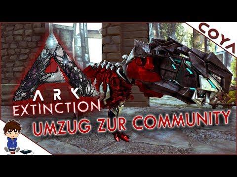 ARK EXTINCTION • Umzug auf den Community-Server • ARK Extinction Gameplay German, Deutsch