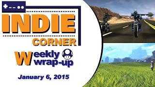Shovel Knight on a Motorcycle, New Anima Trailer - Indie Corner WW Jan 6