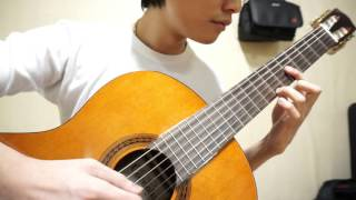 Lãng Đãng Chiều Đông Hà Nội - Classical Guitar solo