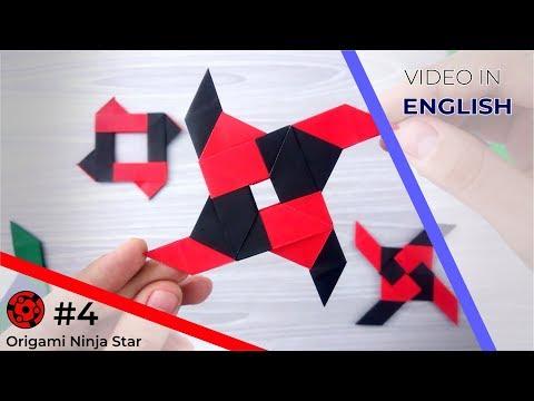 Origami Ninja Star #4 - Transforming Shuriken