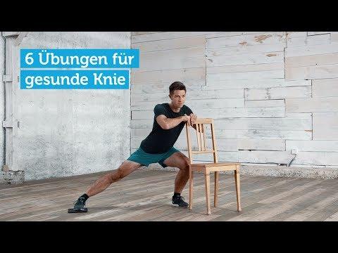 6 Knie Übungen: Stärken, Stabilisieren, Schützen