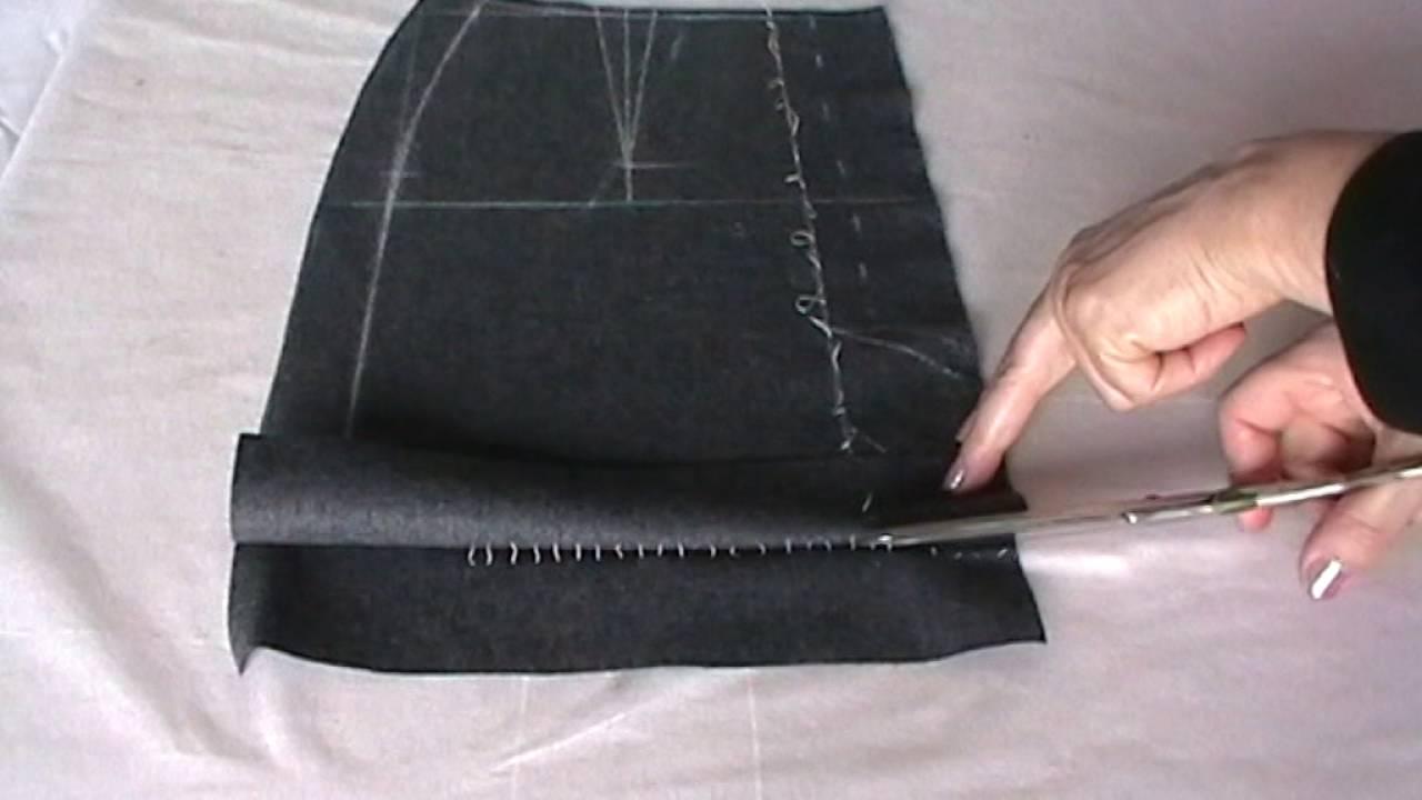Мастер класс как сшить юбку прямую фото 4