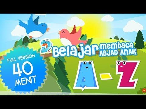 Belajar Membaca Anak TK, Video Animasi Abjad ABC Full Version Berhitung & Bernyanyi Lagu Anak