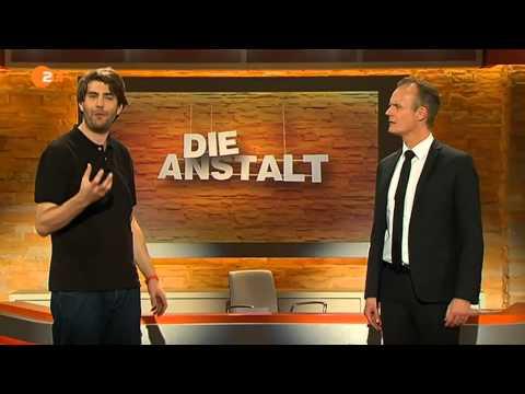 Die Anstalt - 18.11.2014 - Ballern für Bananen - Max Uthoff, Claus von Wagner