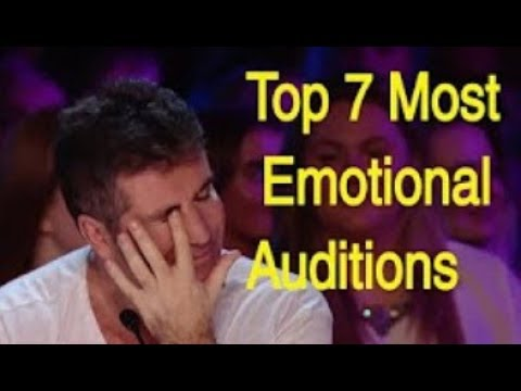 Thumbnail: I BET YOU WILL CRY... Top 7 Most Emotional Auditions That Made Judges Cry :(
