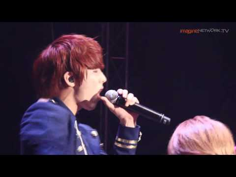 BtoB - Irresistable Lips (Live) @ Sundown Festival 2012