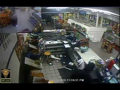 An armed robbery occurred at Krauszer's Food Store on June 20.