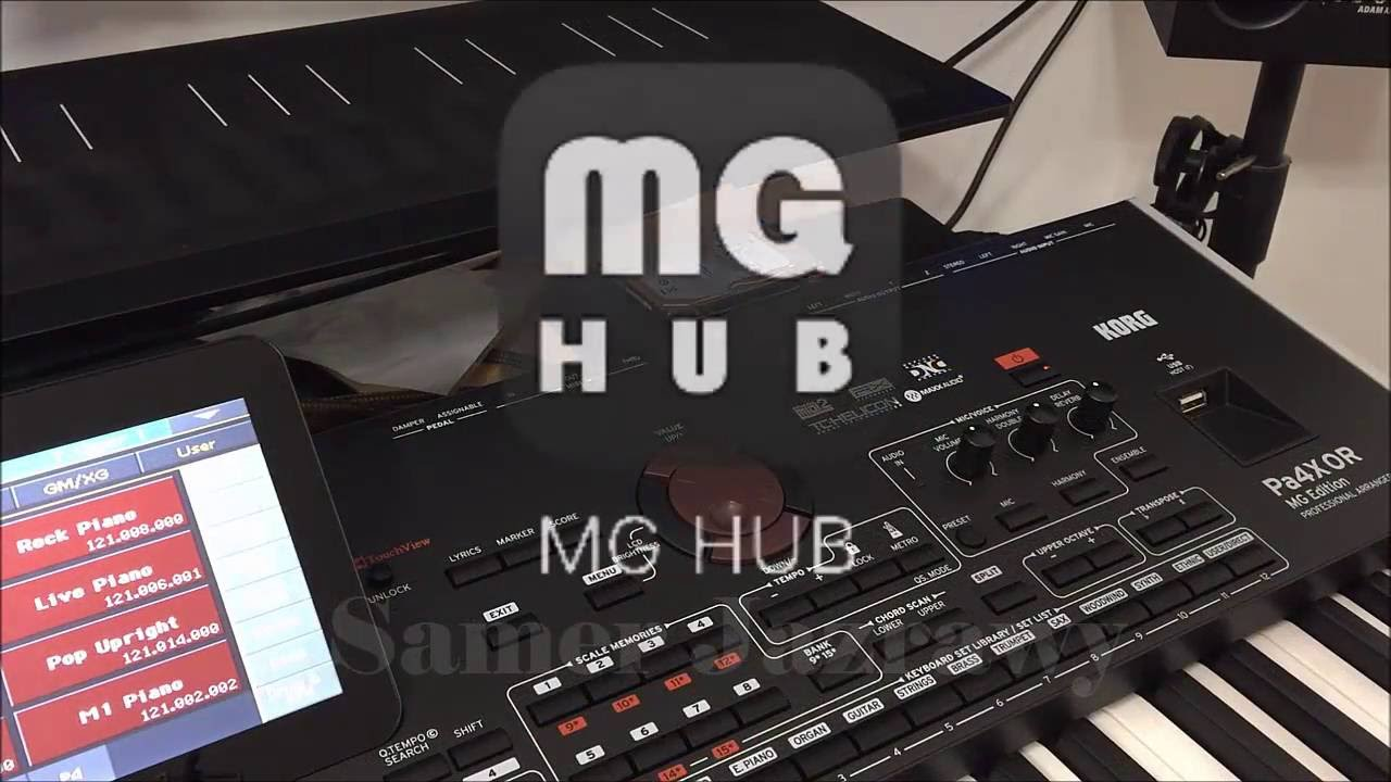 The difference between the KORG PA4X, PA4X Oriental & PA4X OR MG Edition